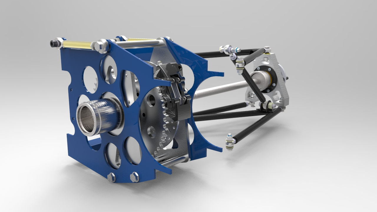 Build A Car >> Chain Drive Diff Add-On Pack » T89